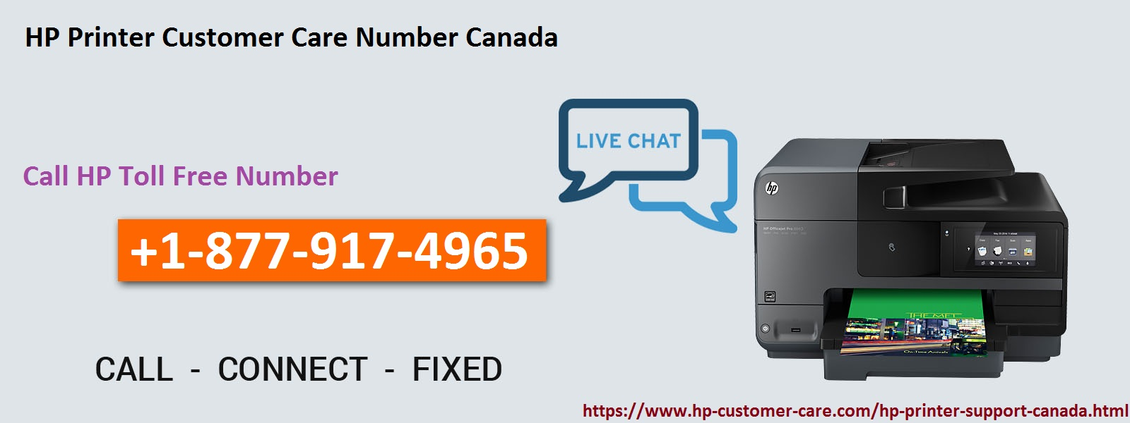 HP Customer Care Number Canada +1-877-917-4965: How to Fix HP