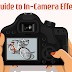 Fix It Before Post! A Guide to In-Camera Effects