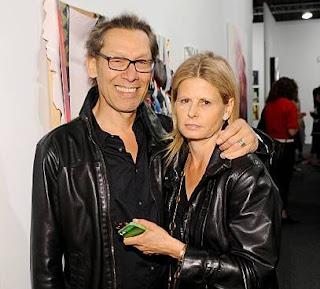 Stine Schyberg with her husband Alex Van Halen