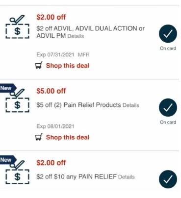 advil cvs crt coupons
