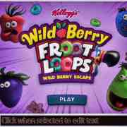Froot loops wild berry escape