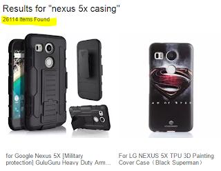 Nexus 5X casing