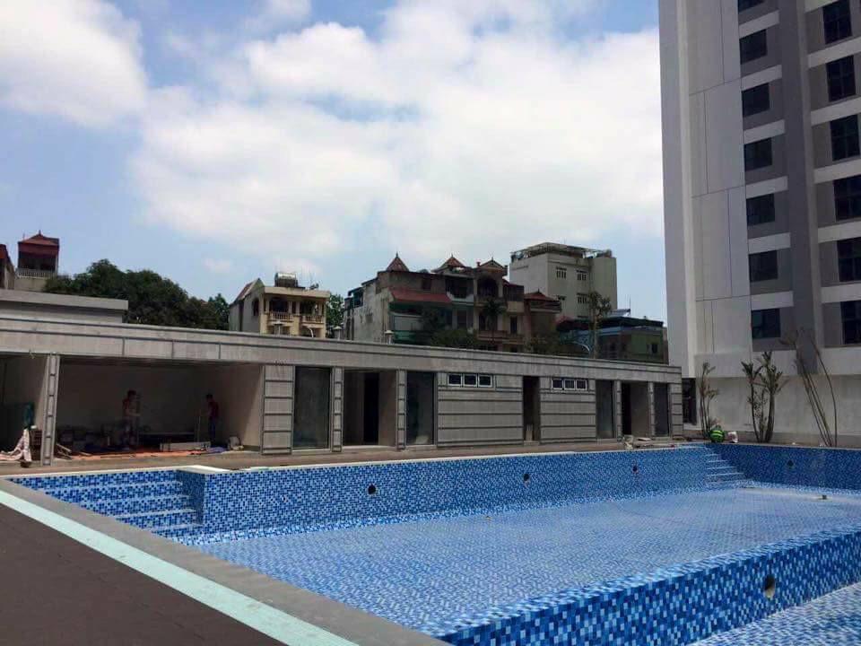 Bể bơi khu Ruby