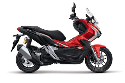 Honda ADV150 Advance Red