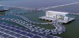World's Largest Floating Solar Power Plant