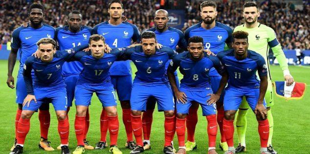 تشكيل فرنسا ضد ايسلندا عبر سوفت سلاش