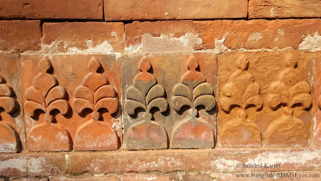 Terracotta of Patrail Mosque