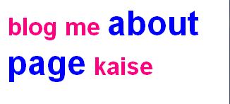 blog me about page kaise banaye