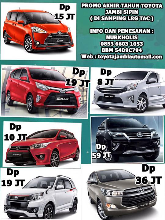 Promo Akhir Tahun 2016 Toyota Jambi