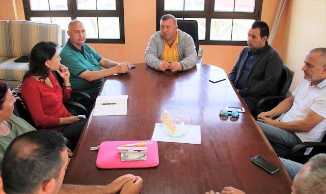 Alcalde de Antigua y Senadora por Fuerteventura  priorizan la adecuada regeneración de la Playa del Castillo en sus objetivos ante el Estado