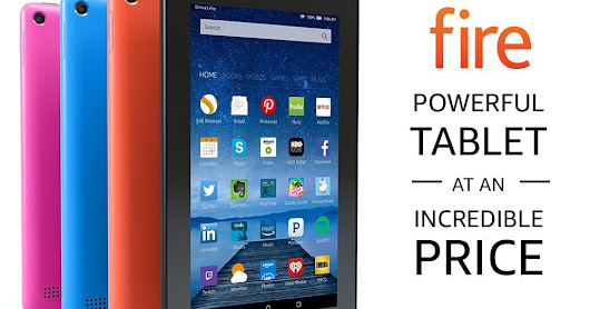 Fire Tablet with Alexa 7 Display 8 GB