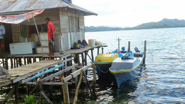 Wisata Pancing Pulau Woda