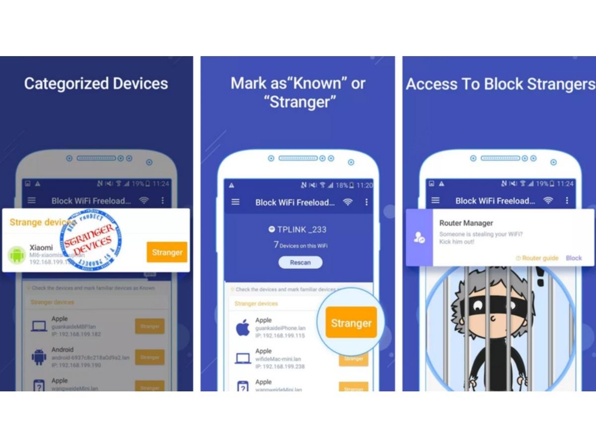 blokir pengguna wifi android
