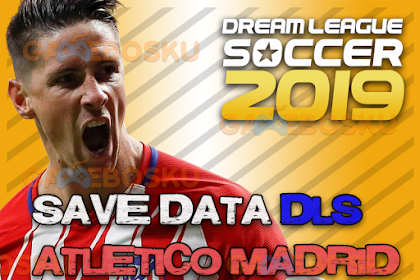 Download Save Data (profile.dat) Dream League Soccer Atletico Madrid