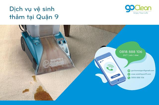 Giặt thảm quận 9 thường xuyên để hạn chế mùi và bụi bẩn