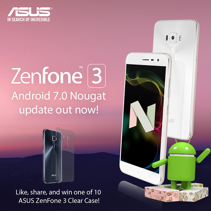 Report: Asus ZenFone 3 Nougat Update Is Now Official!