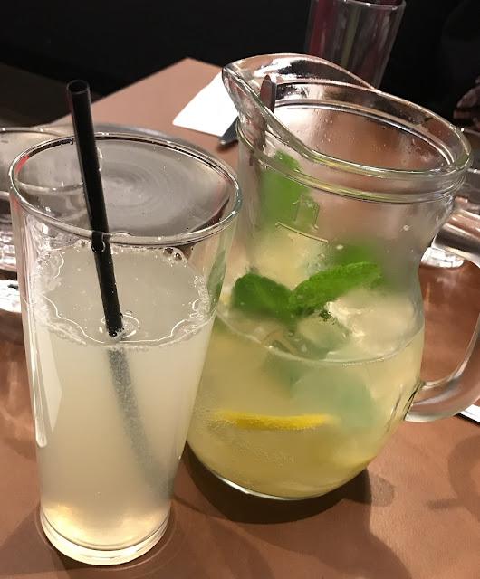 Tahini Lebanese Diner, Melbourne, lemonade