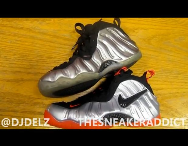 new product 9937e 91c03 Tomorrow the Nike Foamposite Pro Metallic Silver Bright Crimson Sneakers  will be releasingfor a retail of 220 bucks, he is a comparison video with  the Nike ...