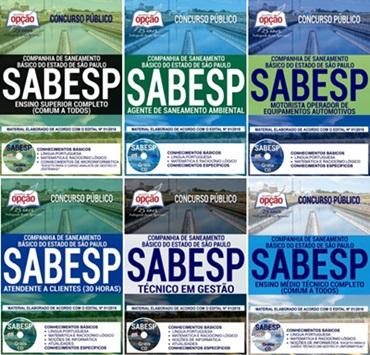 Apostila Concurso SABESP 2018