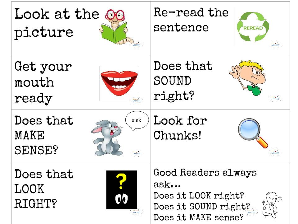 Free Reading Comprehension Test Taking Strategies Posters ...