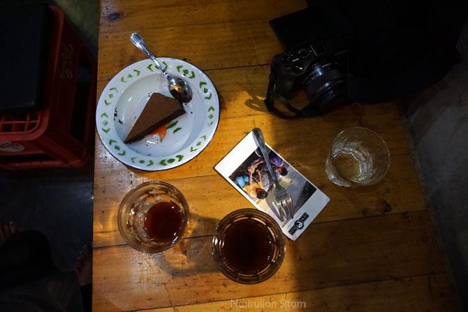 Pesanan kopi yang kami minum