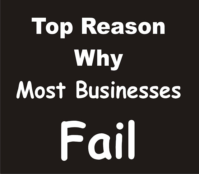 Top Reason Why Most Businesses Fail