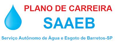 Plano de Carreiras do SAAE Barretos de 2010