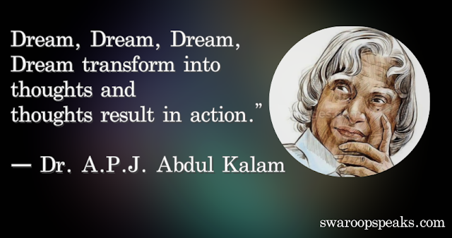 A.P.J. Abdul Kalam Best Motivational Quotes For Success