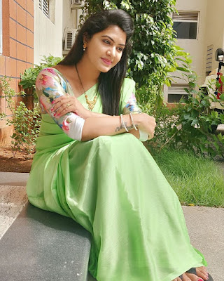 Serial Actress Rachitha Dinesh Latest Beautiful Pics