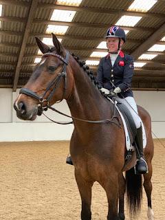 erin orford, dressage horse, dressage cometition, dressage, derriere equestrian