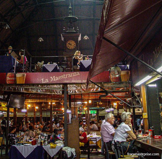 Restaurantes do Mercado do Porto de Montevidéu