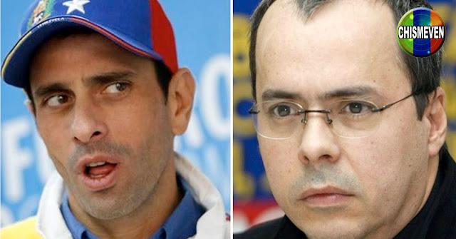 JJ Rendón : Henrique Capriles salió del Clóset como Chavista
