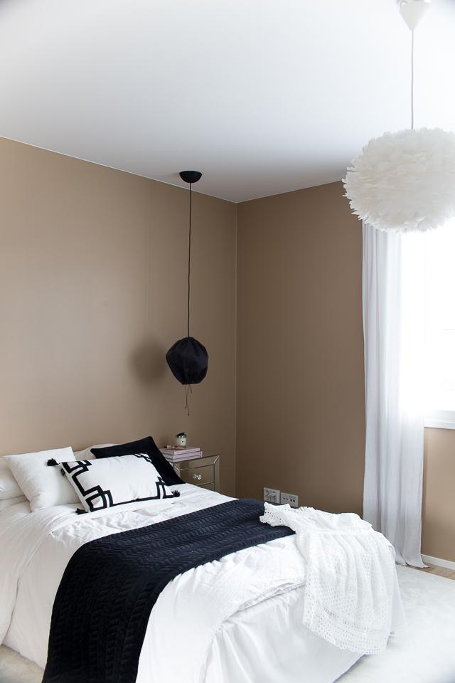 Villa H, klassinen sisustus, makuuhuoneen sisustus, hattaramatto