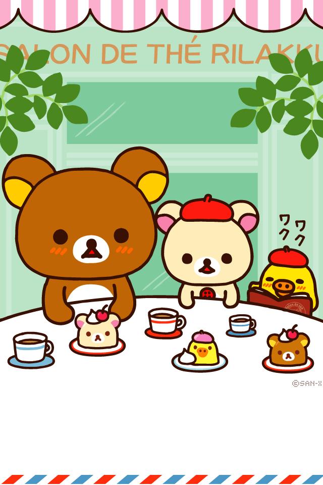 Totoro Wallpaper Iphone 6 Rilakkuma Bear Collection 。 ㅅ 。 Picfish