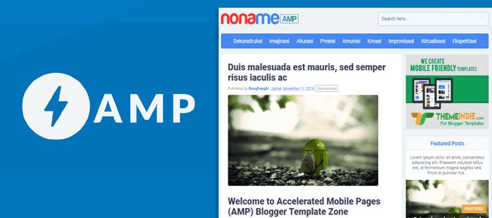Noname AMP ব্লগার থিম