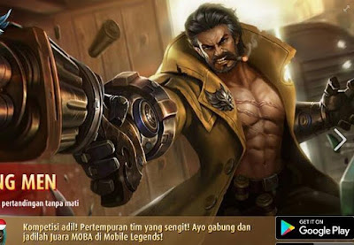 Tanpa Lag walau di jaringan 3G Main Game Mobile Legends
