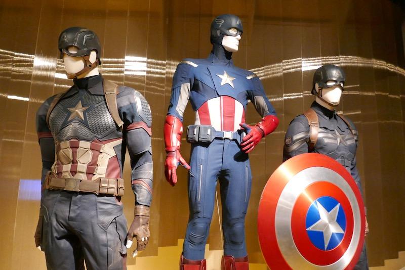Captain America costumes Avengers: Endgame