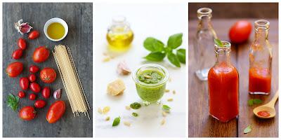 Ingrédients - 1001 secrets d'une italienne pour cuisiner les pâtes