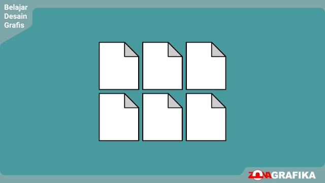 Cara Membagi Ukuran Kertas dengan Presisi di Corel Draw X7