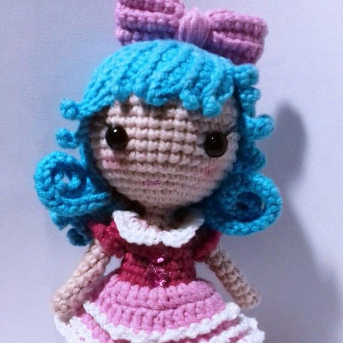 Free Amigurumi Patterns Tiny Crochet Doll Amigurumi Pattern