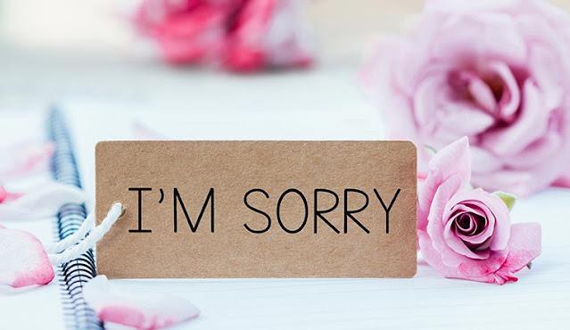 أشياء لا ينبغي لأحد أن يعتذر عنها