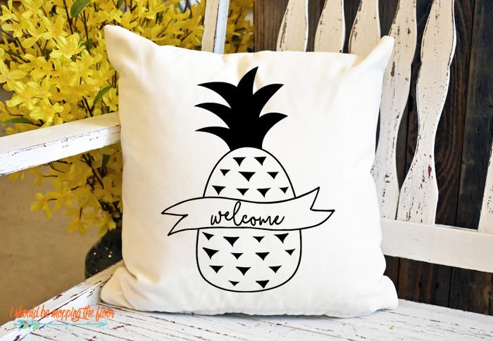 Pineapple Pillow Design