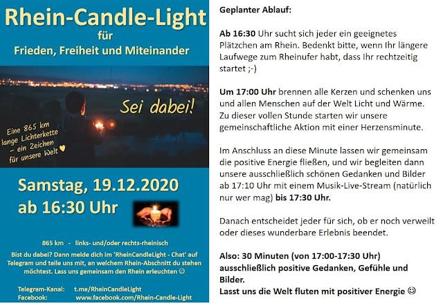 Einladung zum Rhein-Candle-Light