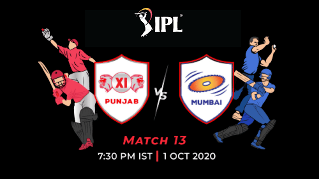 KXIP vs MI Dream11 Team for Today's IPL Match
