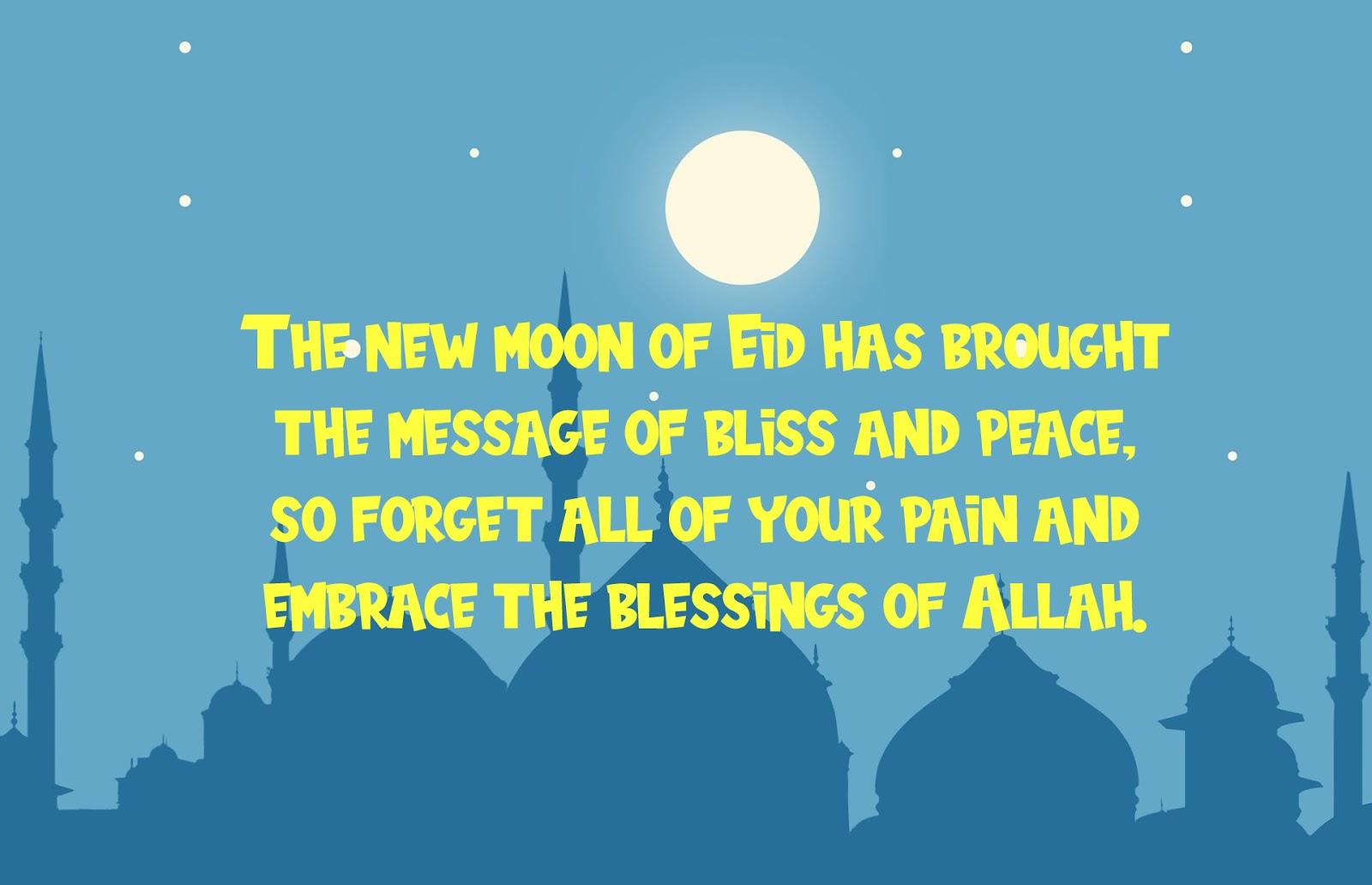 Happy Eid Mubarak in advance