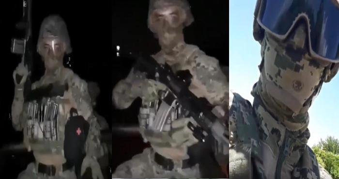 """""""Matar a los criminales que les hagan frente"""", Así grupo de policías de Fuerza Tamaulipas o """"Los Fabricantes de Viudas"""" patrullan la zona"""