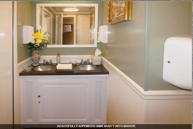 The Westchester Bathroom Sink Vanity with Mirror