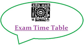 RBU Kolkata Exam Schedule 2020