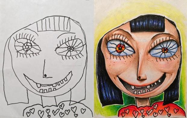 adorable kids drawings