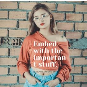 Captions For Stylish Girl